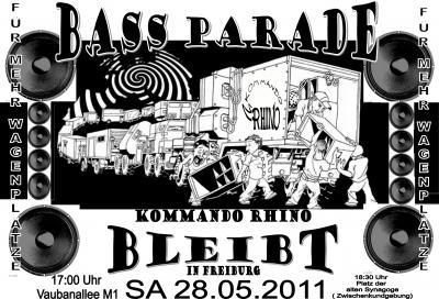 bassparade richtig